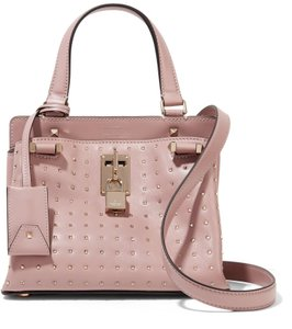 Valentino Rockstud Rockstud Joylock Small Joylock Blush Cross Body Bag