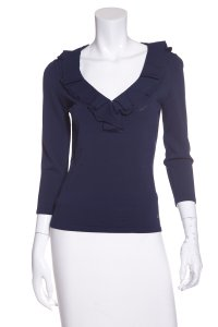 Carolina Herrera Top Navy