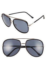 Quay QUAY AUSTRALIA 'Needing Fame' 65mm Aviator Sunglasses