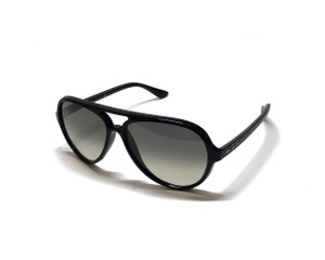 Ray-Ban RB 4125 CATS 5000 SHIPS IMMEDIATELY - Large Black Ray Ban Aviator