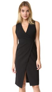 Alice + Olivia Wrap Sleek Comfortable Sexy Dress