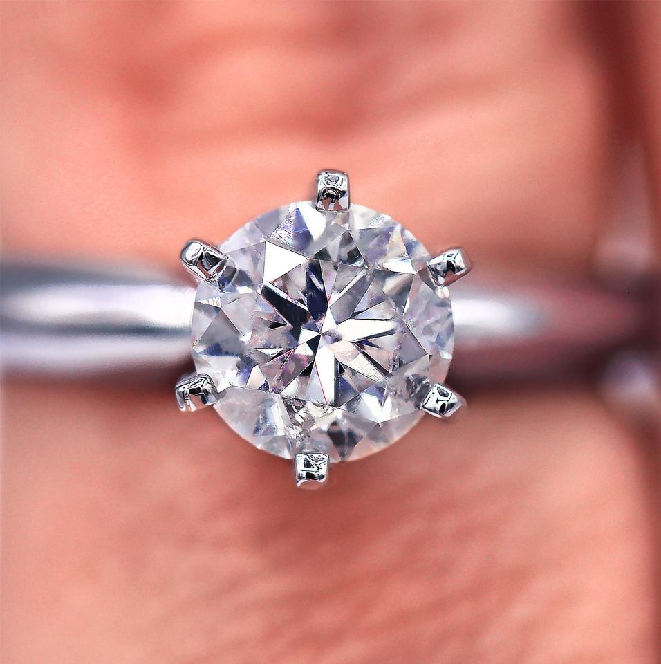 cd748f07a Six-prong Classic Solitaire Diamond Engagement Ring - Tradesy