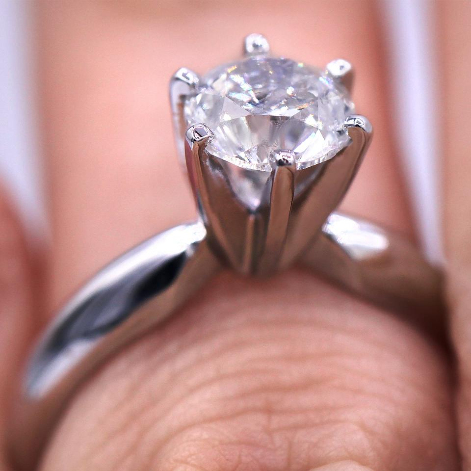 Six-prong Classic Solitaire Diamond Engagement Ring - Tradesy