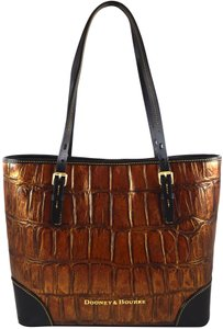 Dooney & Bourke Tote in Cognac Brown