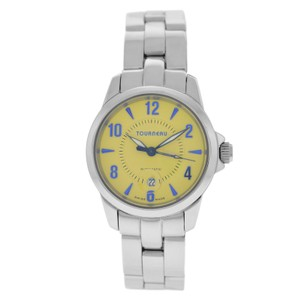 Tourneau Authentic Ladies Tourneau T2671 Steel Automatic 30MM Yellow Dial Watch