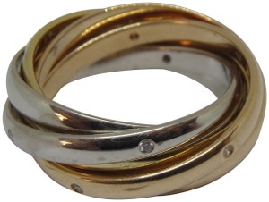 Cartier 6 band Trinity Ring 54-us 7.25