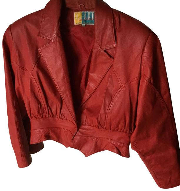 Item - Red Small Jacket Size 6 (S)