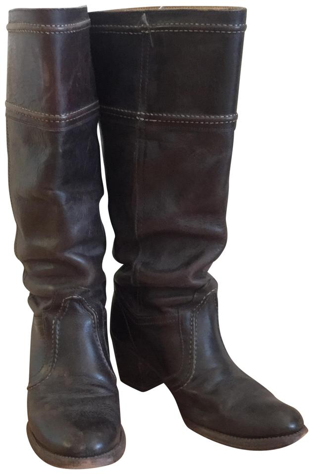 Frye Brown Jane 14 Pull-on Tall Pull-on 14 Boots/Booties bbeb3b