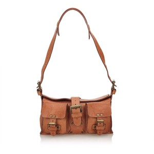 6f01a4daa728 Mulberry Mini Roxanne Brown Leather X Others Shoulder Bag - Tradesy