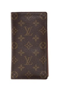 Louis Vuitton Brown & Tan Monogram Coated Canvas Wallet