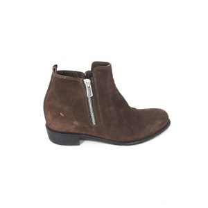 CoSTUME NATIONAL Suede Designer New Brown Boots