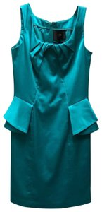Cenia New York short dress Teal on Tradesy