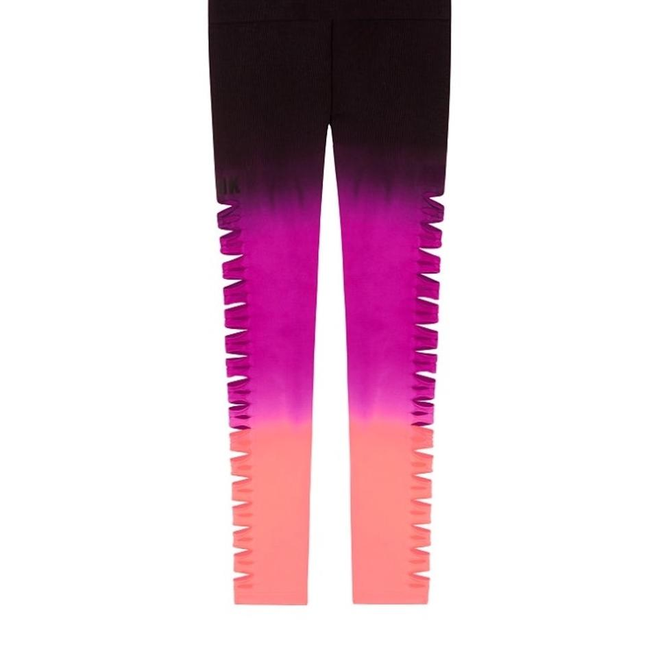 fc929b99ccec76 PINK Ombré Cool and Comfy Cutout Tight Leggings Size 6 (S, 28) - Tradesy