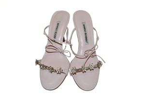 Manolo Blahnik Light Pink Sandals