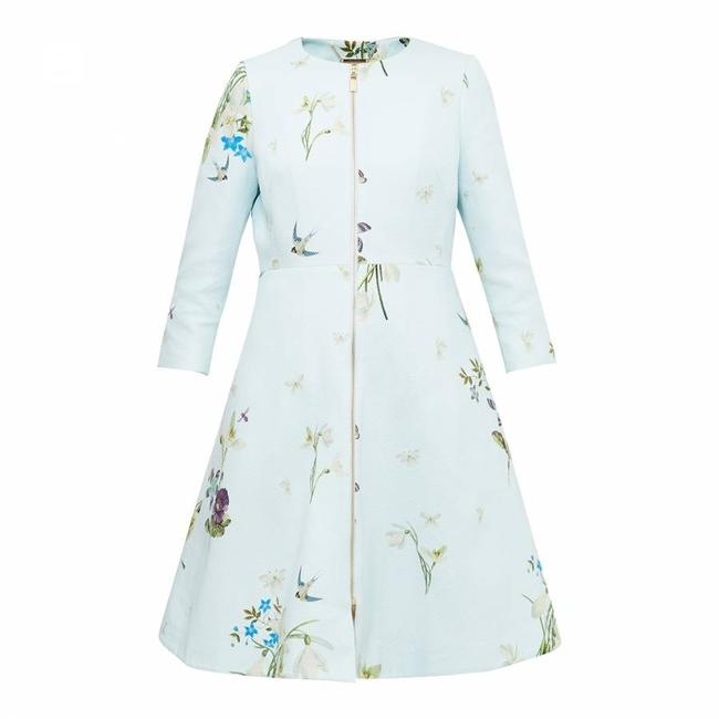 Ted Baker Racheel Spring Meadow Trench Coat Image 3