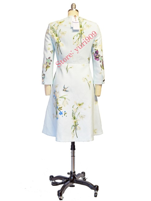 Ted Baker Racheel Spring Meadow Trench Coat Image 6