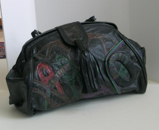 Other Satchel in Black with colored accents Image 2