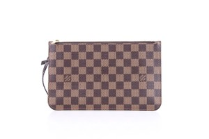 Louis Vuitton * Damier Ebene Clutch