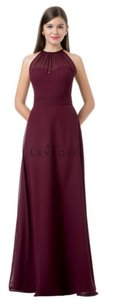 Wine Chiffon Number: Formal Bridesmaid/Mob Dress Size 4 (S)
