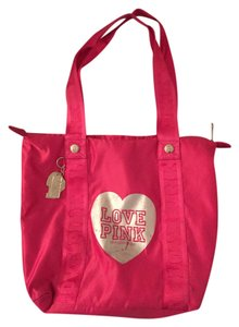 PINK Victoria's Secret Victoria's Secret Beach Fun Hot Tote in Pink
