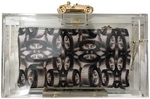 Charlotte Olympia Pouch Clear Clutch