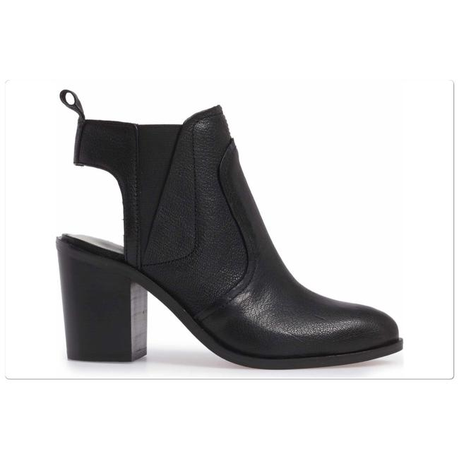 Item - Black Leban Cutout Boots/Booties Size US 6 Regular (M, B)