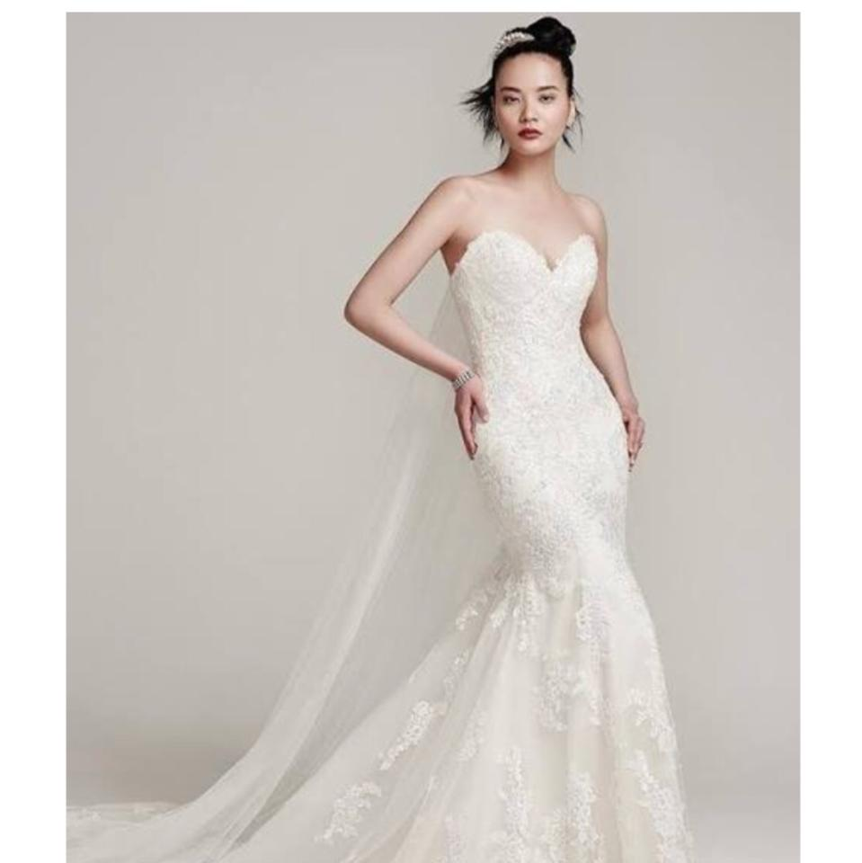 Sottero and Midgley Ivory Over Light Gold Ireland 6ss774 Traditional ...