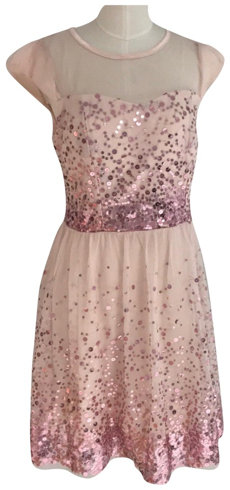 dELiA*s Rose Pretty Prom Sequined Mid-length Night Out Dress Size 6 ...