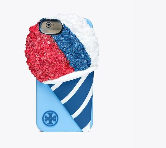 Tory Burch tory burch SNOW CONE SILICONE CASE FOR IPHONE 7 NWT Image 1