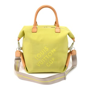 1003184a259c Green Louis Vuitton Weekend   Travel Bags - Up to 90% off at Tradesy