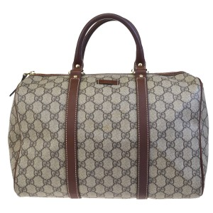 Gucci Made In Italy Brown Travel Bag