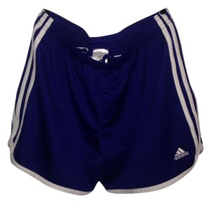 adidas Shorts Purple And White