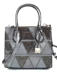 Michael Kors Light Pewter Messenger Bag