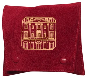 Cartier The Mansion Red Pouch