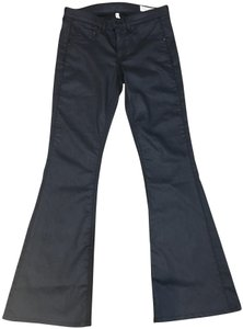 Rag & Bone Flare Leg Jeans-Coated