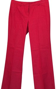 Larry Levine Relaxed Pants Red