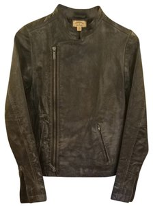 John Varvatos Distressed Black Jacket