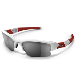 Oakley Oakley Sunglasses FLAK JACKET MLB PHILLIES 24-012 Red & White Frames