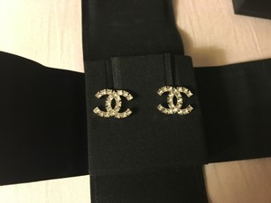 Chanel M/W CRYSTAL CHANEL EARRINGS