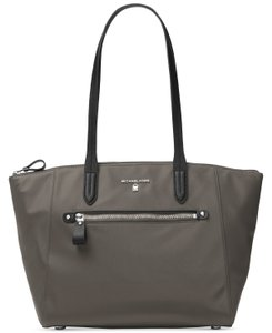 Michael Kors Travel Kelsey Nylon Tote in Graphite Grey