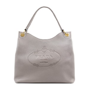 Prada Women Shoulder Satchel in Grey