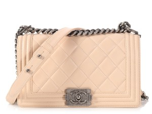 Chanel Silver Hardware Ch.p0208.03 Quilted Shoulder Bag