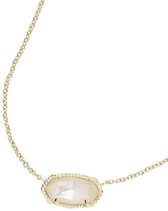Kendra Scott Brand New Kendra Scott Elisa Necklace in Mother of Pearl Gold