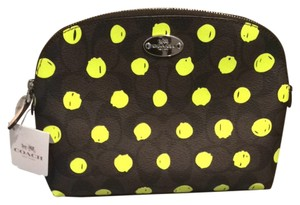 Coach Neon Polka Dot Travel Bag