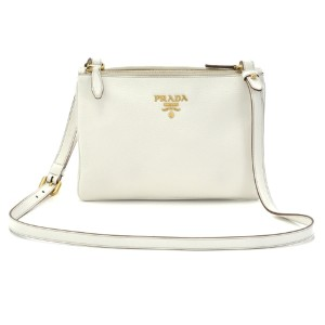 Prada Wool Ivory Cross Body Bag