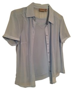 Croft & Barrow Top Light Blue