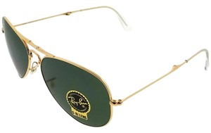 Ray-Ban RB3479-W3366 Aviator Men's Gold Frame Green Lens Genuine Sunglasses