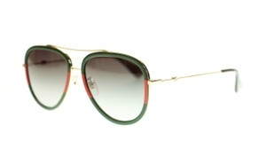 Gucci Gucci GG0062S Multicolor Aviator Sunglasses