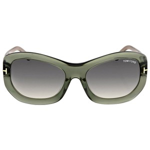 Tom Ford Amy Crystal Grey Ladies Sunglasses