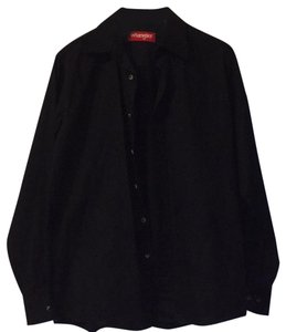 Wrangler Button Down Shirt Black
